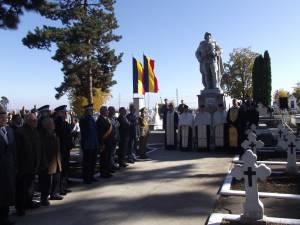 Ceremonial militar şi religios pentru cinstirea memoriei eroilor Armatei Române