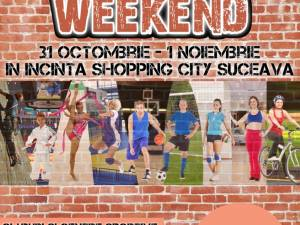 """Sport weekend"", târg de sport la Shopping City Suceava"