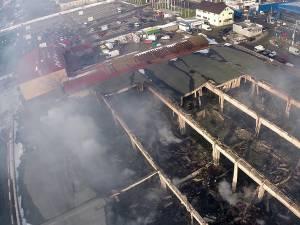 Pagube de peste două milioane de euro, în incendiul de la Rozita