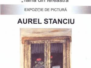 """Expoziţia de pictură """"Taina din fereastră"""""""