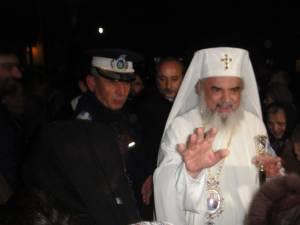 Patriarhul Bisericii Ortodoxe Române a sosit vineri seară la Rădăuți