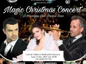 "Mirel Manea & ""Symphonic Pop Orchestra"" vor aduce la Suceava ""Magic Christmas Concert"""