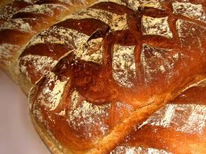 Pâine de casă cu secară şi maia