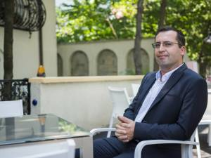 Omul de afaceri Gabriel Sandu, candidatul cel mai probabil al PSD pentru Primăria Rădăuţi. Foto: Răzvan Tulai, Sursa: www.business24.ro