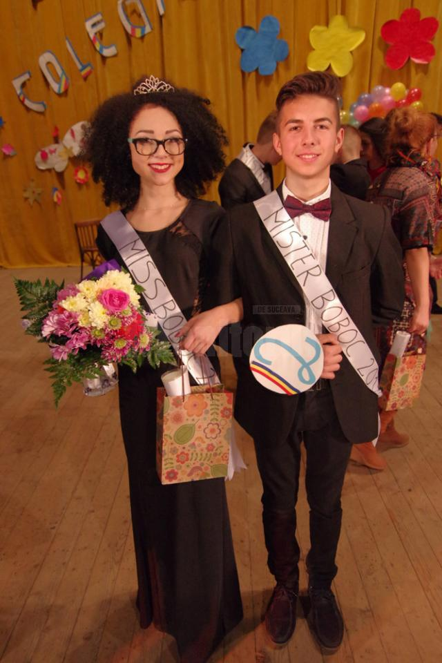 Miss şi Mister Boboc 2015 - Diana Morariu şi Gabriel Ciornei