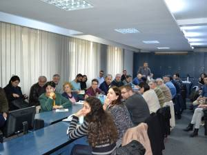 Întâlnirea cu toate pârtile interesate la sediul ISU Suceava