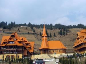 Baza de tratament de la Mănăstirea Gheorghiţeni. Foto: vatradorneilive