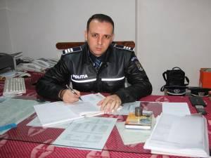 Agentul-şef adjunct Nicolae Gabriel Moroşan