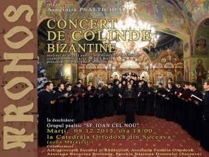 Concert de colinde bizantine