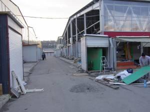 Una dintre condiţiile de redeschidere a Bazarului este cea de înfiinţare a unui serviciu propriu de pompieri