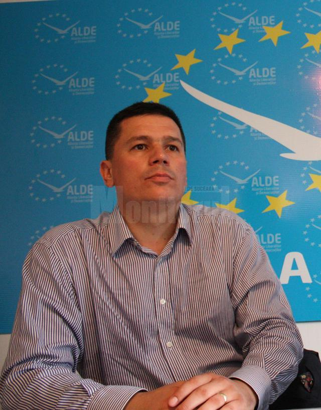 """Cezar Cioată: """"Am luat această decizie din motive personale, iar deocamdată îmi voi continua activitatea politică în Parlament şi în teritoriu"""""""