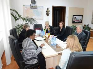Ambasadorul Africii de Sud a efectuat o vizită oficială în judeţul Suceava