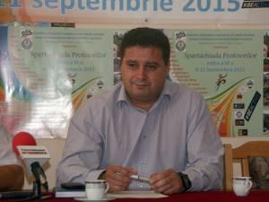 Prof. Giani Leonte, preşedintele Alianţei Sindicatelor din Învăţământ Suceava