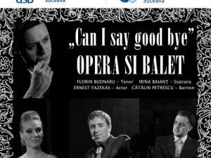"""Operă și balet cu artiști ai Teatrului de Operetă și Musical """"Ion Dacian"""", la USV"""