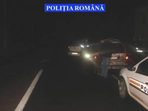 Blocaje în trafic, pe DN 17, după o maşină încărcată cu ţigări
