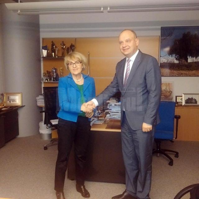 Senatorul PSD de Suceava Ovidiu Donţu, a efectuat o vizită de lucru oficială la Parlamentul European