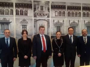 Nechifor s-a întâlnit cu directorul Aeroportului El Prat din Barcelona