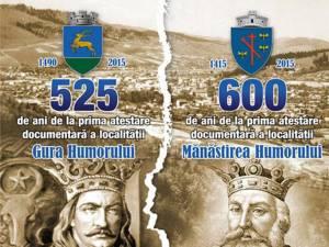 Astăzi încep manifestările dedicate aniversării a 525 de ani de la atestarea documentară a localităţii Gura Humorului
