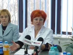 Corina Stănescu, şefa secţiei de Boli Infecţioase
