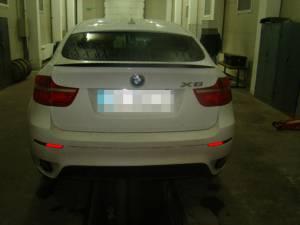 Autovehiculul marca BMW X6 a fost restituit în cursul zilei de ieri