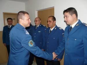 Avansări în grad la Jandarmeria Suceava, cu prilejul Zilei Naţionale