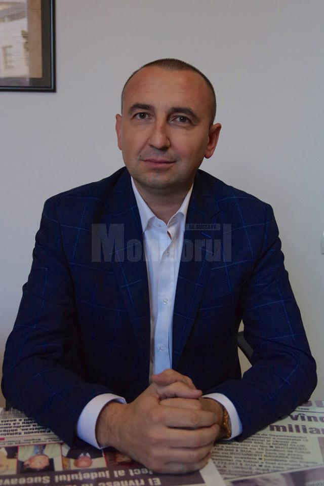 Cătălin Miron, candidatul PNL pentru Primăria Rădăuţi