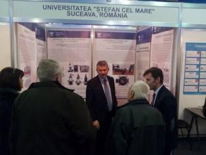 """Medalii şi diplome pentru universitarii suceveni la """"Infoinvent"""" Chişinău"""