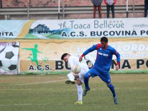 Căinari, un fotbalist de bază pentru Bucovina Pojorâta