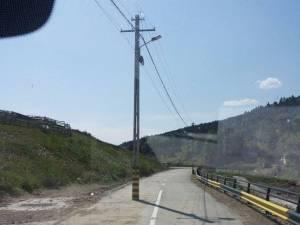 Stâlpul apărut după calamităţile din 2010