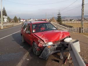Cel mai grav avariat a fost autoturismul VW Golf 3