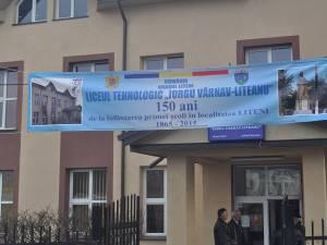 Şcoala din Liteni, reabilitată la 150 de ani de la înfiinţare