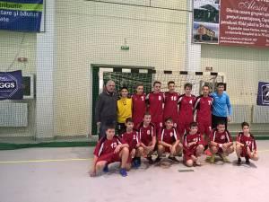 Echipa de juniori III a LPS Suceava a încheiat anul cu 10 victorii din tot atâtea meciuri
