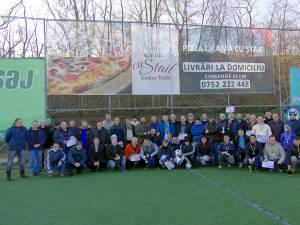 """Ediţia a VI-a a Campionatului judeţean de old-boys """"Ambro"""" s-a încheiat într-un cadru festiv"""