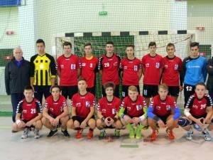 Echipa de handbal juniori II LPS Suceava a încheiat anul cu o victorie ce a dus-o pe locul trei