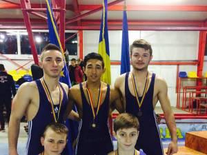 Cei cinci luptători suceveni medaliați la turneul internațional de la Satu Mare