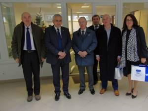 Conducerea SCC Services s-a întâlnit cu rectorul Universităţii Suceava, apreciind calitatea specialiştilor pe care îi dă această instituţie