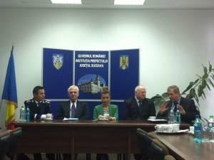 Întâlnirea care a avut loc ieri la Prefectura Suceava