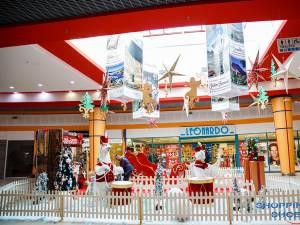 Decor de sărbători la Shopping City Suceava
