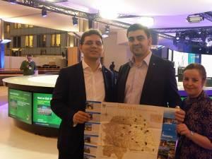 Tinerii din PES activists Suceava au promovat Bucovina la Bruxelles