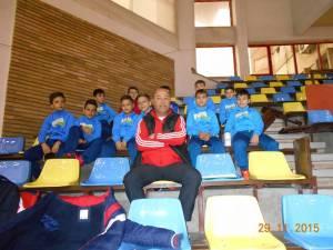 Alexandru Gheorghe, fostul golgeter al Forestei, activează în prezent ca antrenor de copii la Atletico Roşiorii de Vede