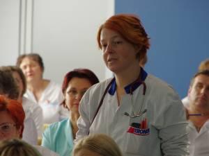 Dr. Cristina Nicolae, principalul realizator al ghidului de utilizare a antibioticelor