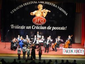 Concert de Crăciun, cu Strauss Festival Orchestra Vienna, pe scena suceveană