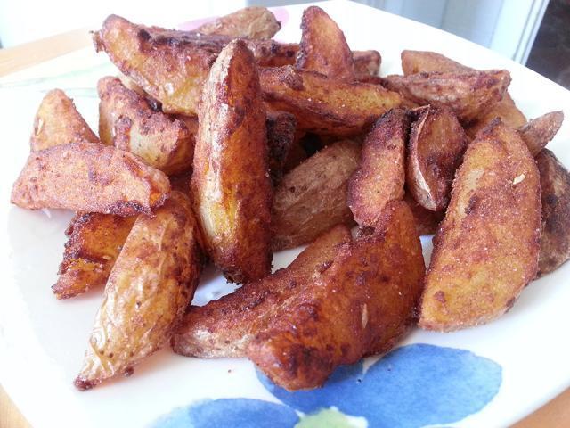 Cartofi prăjiți cu cenușcă ( de post) Foto: todoespecias.com
