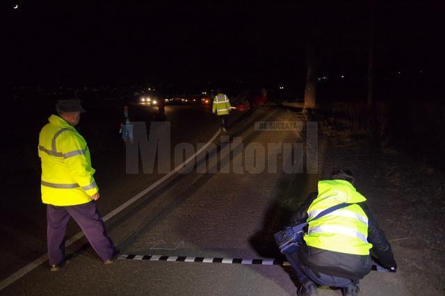 Un bărbat mort şi un copil în stare gravă, după un accident petrecut ieri seară la Vereşti