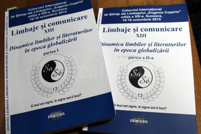 """Peste o mie de pagini de comunicări ştiinţifice, rodul Colocviului Internaţional de Ştiinţe ale Limbajului """"Eugeniu Coşeriu"""", de la USV"""