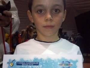 David Onisei din Fălticeni, pe locul 4 la Turneul Campionilor