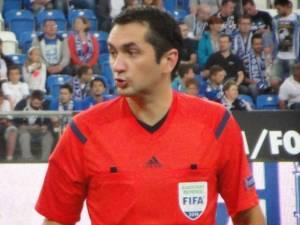 Cariera lui Sebastian Gheorghe în arbitraj se află în plin avânt