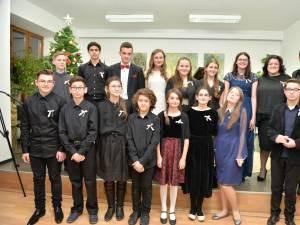 "Recital de pian, la Colegiul de Artă ""Ciprian Porumbescu"""