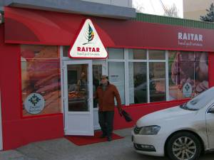 Magazinul Raitar din cartierul Zamca