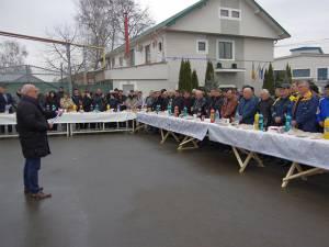 Câteva sute de salariaţi ai SUCT Suceava au fost prezenţi la acţiunea de ieri